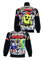 bluza BRAWL STARS LEON dresowa wzór B6