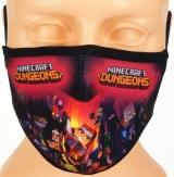 dziecięca maska MINECRAFT ochronna rozmiar S wzór M29 (M4)