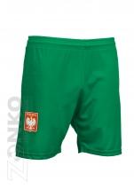 spodenki  sportowe POLSKA - zielone