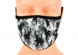 dziecięca maska ochronna szara moro ROZMIAR S wzór M39