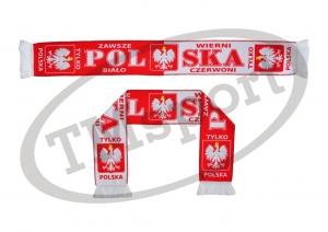 szalik drukowany POLSKA dwustronny wzór DR-1