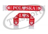 szalik drukowany POLSKA dwustronny  wzór DR-3