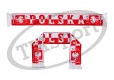 szalik drukowany POLSKA dwustronny wzór DR-5