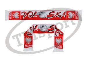 szalik drukowany POLSKA dwustronny wzór DR-7