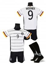 strój sportowy + getry WERNER Niemcy