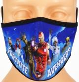 dziecięca maska FORTNITE ochronna rozmiar S wzór M60 (F4)