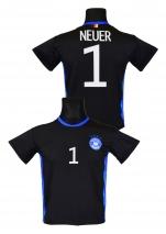 koszulka sportowa NEUER Niemcy czarna