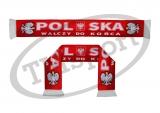 szalik drukowany POLSKA dwustronny DR-8