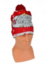 czapka zimowa drukowana POLSKI wzór DR-4