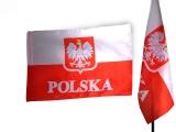 flaga POLSKA 70 x 112 nadruk