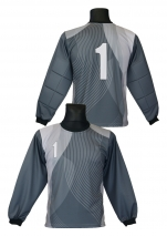 bluza bramkarska szara wzór 8.1