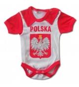 body niemowlęce POLSKA (rozmiarówka 5 szt 62-86)