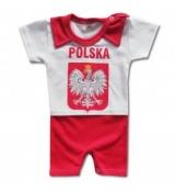 body z krótką nogawką niemowlęce POLSKA (rozmiarówka 5 szt 62-86)