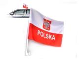 flaga POLSKA samochodowa