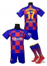 strój piłkarski + getry GRIEZMANN Barcelona