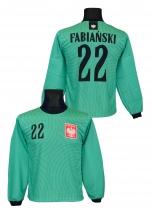 bluza bramkarska Polska FABIAŃSKI zielona