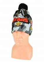 czapka zimowa BRAWL STARS wzór B6