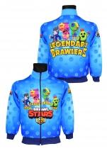bluza BRAWL STARS dresowa dziecięca wzór B5