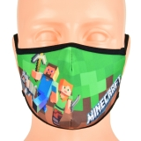 dziecięca maska MINECRAFT rozmiar S wzór M3A