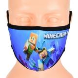 dziecięca maska MINECRAFT rozmiar S wzór M80A