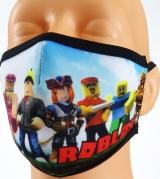 dziecięca maska ROBLOX rozmiar S wzór M93A