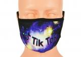 dziecięca maska TIK TOK rozmiar S wzór T3