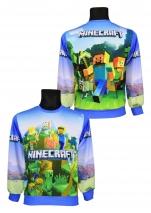 bluza nierozpinana MINECRAFT wzór MN1/N