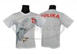 koszulka sportowa POLSKA orzeł pikujący (K-09)