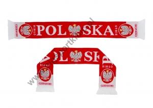 szalik dziany POLSKA dwustronny - wzór 3