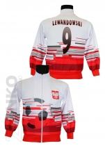 bluza sportowa LEWANDOWSKI Polska wzór 2