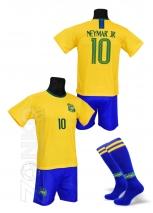 strój sportowy + getry NEYMAR Brazylia