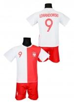 strój piłkarski LEWANDOWSKI Polska jubileuszowa
