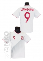 koszulka BAWEŁNA LEWANDOWSKI Polska