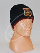 czapka zimowa FC BARCELONA replika - granat