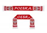 szalik dziany POLSKA dwustronny - wzór 4