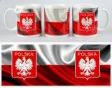 kubek ceramiczny POLSKA - wzór 2