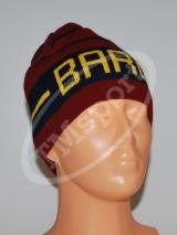 czapka jeśień/zima bordo BARCELONA (K-02)