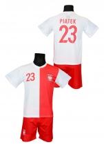 strój piłkarski PIĄTEK Polska jubileuszowy
