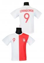 koszulka piłkarska LEWANDOWSKI Polska jubileuszowa