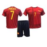 strój piłkarski MORATA Hiszpania