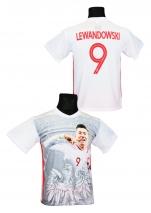 koszulka sportowa LEWANDOWSKI Polska FOTO
