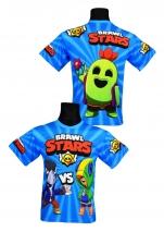 koszulka LEON BRAWL STARS wzór B3