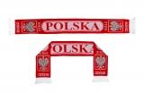 szalik dziany POLSKA dwustronny  wzór 6