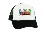 czapka BRAWL STARS z daszkiem dziecięca czarna D4