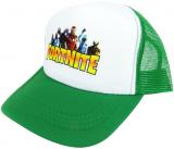 czapka FORTNITE z daszkiem dziecięca zielona D5