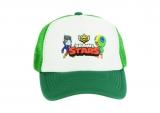 czapka BRAWL STARS z daszkiem dziecięca zielona D7