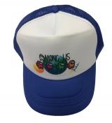czapka AMONG US z daszkiem dziecięca chaber D9