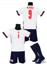 strój piłkarski + getry KANE Anglia