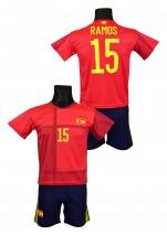 strój piłkarski SERGIO RAMOS Hiszpania