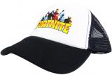 czapka FORTNITE  z daszkiem dziecięca czarna D13